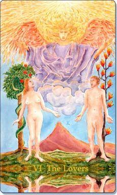 art of life Tarot | Tarot Card Meanings: Tarot Reading And Understanding The Lovers Tarot ...