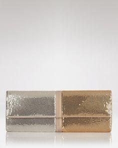 Silver + Gold Clutch | Sondra Roberts