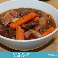 Instant Pot Beef Bourguignon {AIP/Paleo} - Conscious Autoimmunity