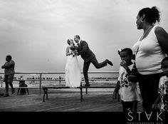Coney Island Wedding Photos