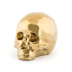 Memorabilia by Alessandro Zambelli for Seletti is a collection of souvenirs from memorable events All made of porcelain Unique Gifts For Men, Cool Gifts, Presents For Her, Gifts For Him, Gold Skull, Skulls, Human Skull, Skull Design, Gift Store