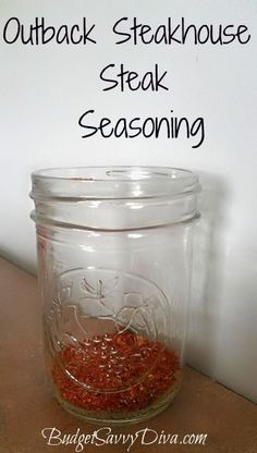 Outback Steakhouse Steak Seasoning Recipe