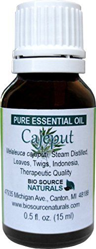 Biosource Naturals Cajeput (Melaleuca cajuputi) Pure Essential Oil: Cajeput is from the Melaleuca family (same as Tea Tree). As many have experienced the benefits of tea tree oil this scent has becom...