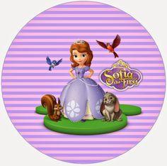 BulutsMom: Prenses Sofia Temalı Doğum Günü Süsleri