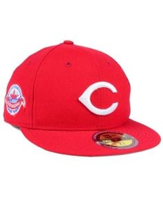 New Era Cincinnati Reds Ultimate Patch All Star Collection 59FIFTY Fitted  Cap - Red 7 1 419350a9119