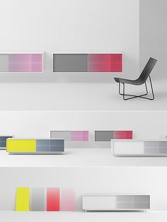 SHIFT Storage System Dessi Ivanova, moddea.com Amsterdam-based team Scholten  Baijings has designed Shift — a minimalist, colorful, and highly customizable storage system manufactured by the Dutch company Pastoe. Continue reading →