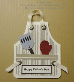 Stampin' & Scrappin' with Stasia: Stamping Royalty Theme Challenge Fathers Day Cards, Happy Fathers Day, Cool Cards, Diy Cards, Punch Art Cards, Scrapbook Cards, Scrapbooking, Shaped Cards, Birthday Cards For Men