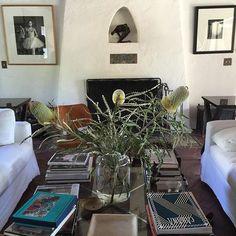spanish white fireplace