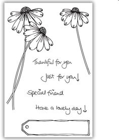 Julie Hickey Designs - Sweet Daisy Stamp Set JH1043 - Julie Hickey - HixxySoft £8.99 Tag Design, Daisy, How To Draw Hands, Hair Accessories, Crafty, Stamps, Sweet, Seals, Candy