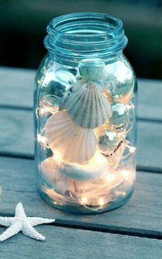 DECO: Conchas, Da Praia Para Casa