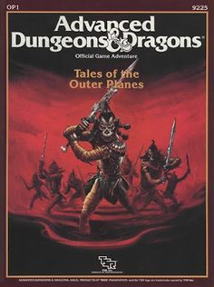 Advanced Dungeons & Dragons Archive: Tales of the Outer Planes Dungeons And Dragons Books, Advanced Dungeons And Dragons, Science Fiction, Arcane Trickster, Pen And Paper Games, D Book, Forgotten Realms, Wizards Of The Coast, Dark Fantasy