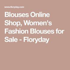 Blouses Online Shop, Women's Fashion Blouses for Sale - Floryday
