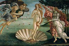 El nacimiento de Venus, 1485 - Sandro Botticelli