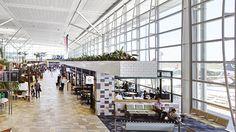 Brisbane International Airport Retail Upgrade, Airport architecture, Airport interior design, retail refurbishment, hospitality upgrade