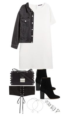 """""""Untitled #4534"""" by theeuropeancloset ❤ liked on Polyvore featuring Violeta by Mango, SALAR, Isabel Marant and Topshop"""