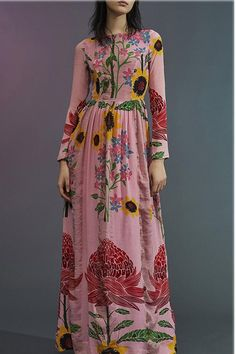 Product 🔥Flash Sale Fashion printing long-sleeved maxi dress Brand Name Aeroge SKU Gender Women Style Elegant/Sexy/Fashion Type Maxi Dresses Material Polyester Decoration Printing Please Note:All dimensions are measured manually with a deviation of 1 to Long Sleeve Maxi, Maxi Dress With Sleeves, Sleeved Dress, Estilo Hippie, Moda Boho, Maxi Skirts, Maxi Dresses, Spring Dresses, Types Of Fashion Styles