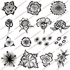 Google Image Result for http://www.hennamehndi.in/wp-content/easy-henna-flower-designs.jpg