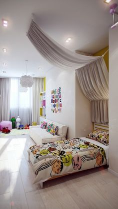 Crisp and Colorful Kids Room