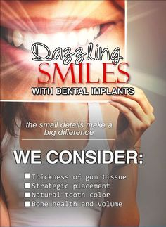 Dental Implants are the best option to replace missing teeth. They provide solid foundation for new teeth,and prevent further loss of valuable bone structure. Implants not only improve your appearance but also provide functional end results #dentalimplants #smilecorrection #smilemakeover #replacemissingteeth #implantsvsbridge #cosmeticdentalclinicinbangalore #smilemakeoverinbangalore #cosmeticdentistkoramangala #drsidharthshankar #smilekraftbengaluru