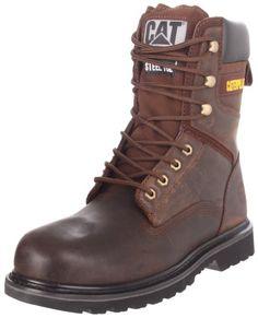 "Caterpillar Men`s Rangler MR 8"" Work Boot, Dark Brown,8.5 W US"