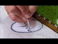 Pintura em tecido: Galinha d' Angola Country P-3 - YouTube