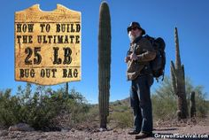 You can only carry so much weight over rough terrain and for long distances. By using ultralight thru-hiking techniques, you can still pack everything you need and stay under a reasonable weight. Here's how: http://graywolfsurvival.com/66545/how-to-build-ultimate-25-pound-bug-bag/