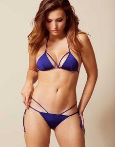 a116838b81 Fiorella Bikini Top Blue - Bikinis - Swim Bikini Bottoms