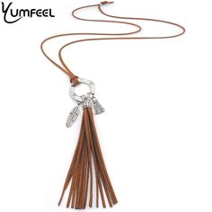 Cheap tassel pendant, Buy Quality long necklace directly from China tibetan silver Suppliers: Yumfeel Factory New Vintage Camel Tassel Pendants Necklace Handmade Tibetan Silver Plated Feather Velvet Long Necklace Gifts