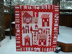 One of my all-time fav house quilts, from Stitching Hands on #flickr