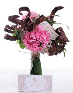 01765 — Lorashen Lily Bouquet, Succulent Bouquet, Cascade Bouquet, Floral Bouquets, Wedding Bouquets, Flower Art, Floral Arrangements, Table Decorations, Flowers Garden
