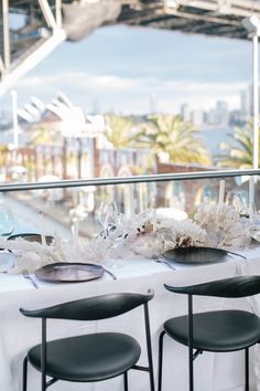 Sydney Wedding Venues Aqua Dining Styling The LANE