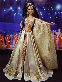OOAK Barbie NiniMomo's Miss Oman 2011