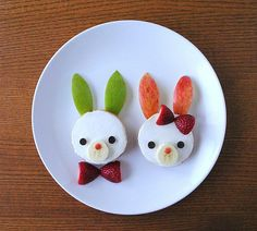Start your day right with this healthy and delicious duo. Easy enough for bunnies big and small!