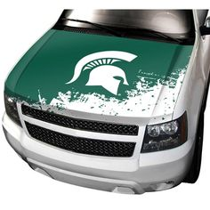 Team ProMark: Auto Hood Cover - NCAA Michigan State. Find your team @ ReadyGolf.com