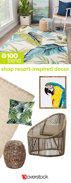Make every day feel like a vacation with a resortchic home interior that& inviting and luxurious Furnishings, decor accents, and light fixtures that incorporate natural fibers like rattan and bamboo lend a beachside feel to any room - braids Home Decor Trends, Home Decor Inspiration, Diy Home Decor, Decor Ideas, Room Ideas, Pinterest Home, Pinterest Crafts, Beach House Decor, My New Room