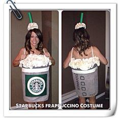Starbucks Frappucino Costume DIY