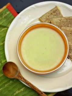 Cream of Chayote Soup (Crema de Chayote) - my Costa Rican host mom made me this soup.  Hope this recipe can take me back.