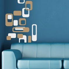 MOD Blocks Wall Decal Packs Add Modern Flair To Any Room