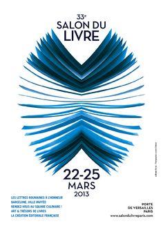 Affiche salon du livre Paris 2013
