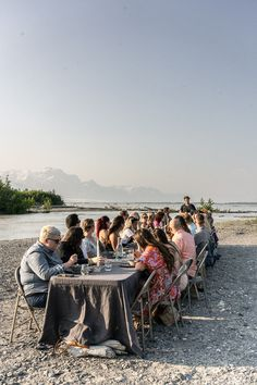 See more from our outdoor dining experience in Alaska! #gather #outdoordining #alfresco Rustic Outdoor, Outdoor Dining, Outdoor Dinner Parties, Human Connection, Weekends Away, Beautiful Moments, Fresco, Alaska, Life Is Good