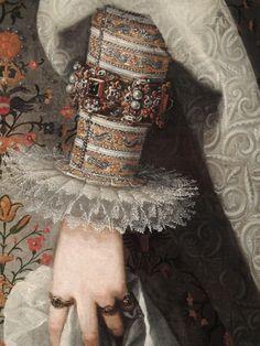 Marguerite d'Autriche, épouse de Philippe III d'Espagne (1605) - Juan Pantoja de La Cruz