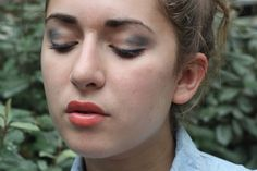 Axelle et ses caprices: Denim make up look