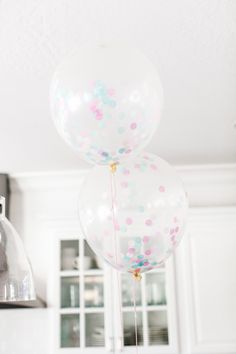 The TomKat Studio | Kate's Cotton Candy Party - Candy Shoppe Confetti Balloons