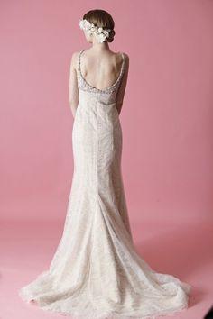 Deep neck bridal dresses / Wedding Dresses 2013