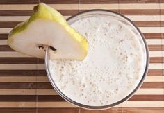 El batido de pera más delicioso para eliminar kilitos | i24Web