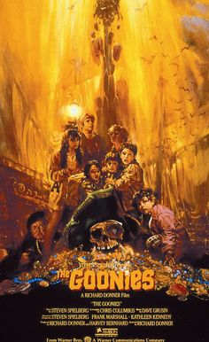 THE GOONIES 'r' good enough for me. ) I Wish that the sequel of the goonies might come :) 80s Movies, Great Movies, Movies To Watch, Os Goonies, About Time Movie, Film Music Books, Film Serie, Classic Movies, Movies Showing