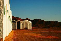 """""""Alba nel deserto"""" della turistapercaso Antalya in #Egitto a Marsa Alam #buongiorno"""