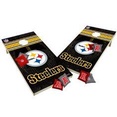 Pittsburgh Steelers Cornhole Tailgate Toss XL Shields Set