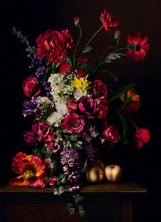 Still life with flowers by Harmanus Uppink, 1789 ...