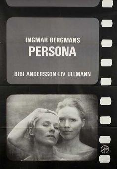 Posteritati: Persona 1966 Sweden B1 (27x39)